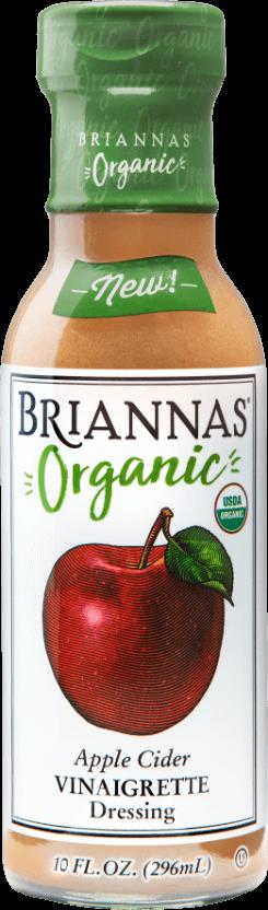 Briannas Organic Apple Cider Vinaigrette