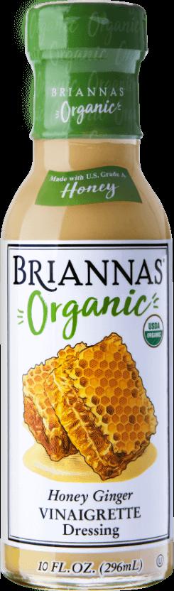 Briannas Organic Honey Ginger Vinaigrette