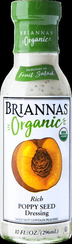 Briannas Organic Rich Poppy Seed
