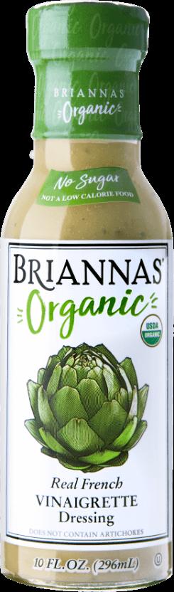 Briannas Organic Real French Vinaigrette