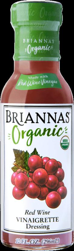 Briannas Organic Red Wine Vinaigrette