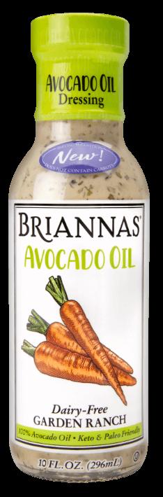 Briannas Avocado Oil Garden Ranch