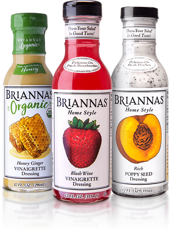 Briannas new look bottle lineup
