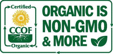 Certified Organic - Non-GMO