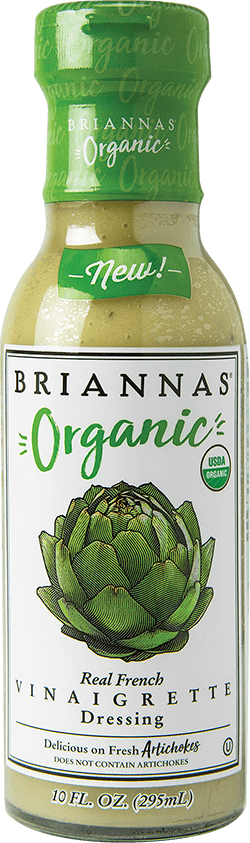 BRIANNAS Organic Real French Vinaigrette
