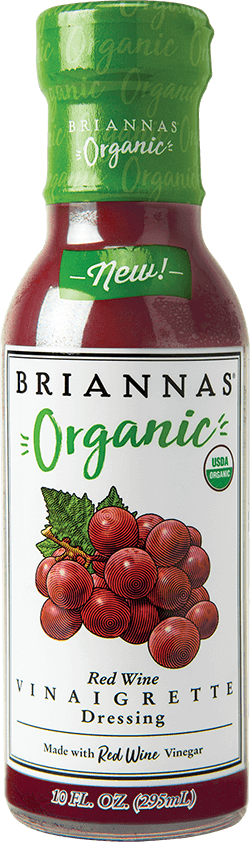 BRIANNAS Organic Red Wine Vinaigrette