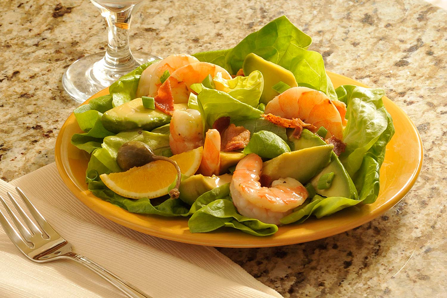 Champagne Shrimp Salad