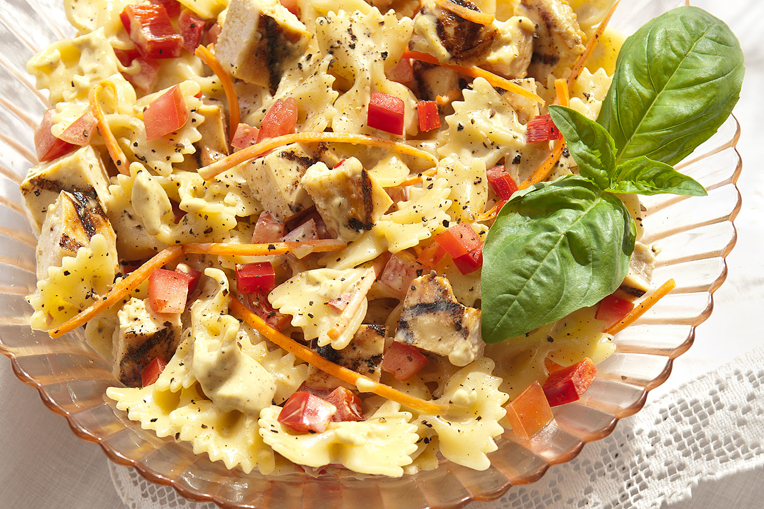 Grilled Chicken Pasta Salad - BRIANNAS Salad Dressings