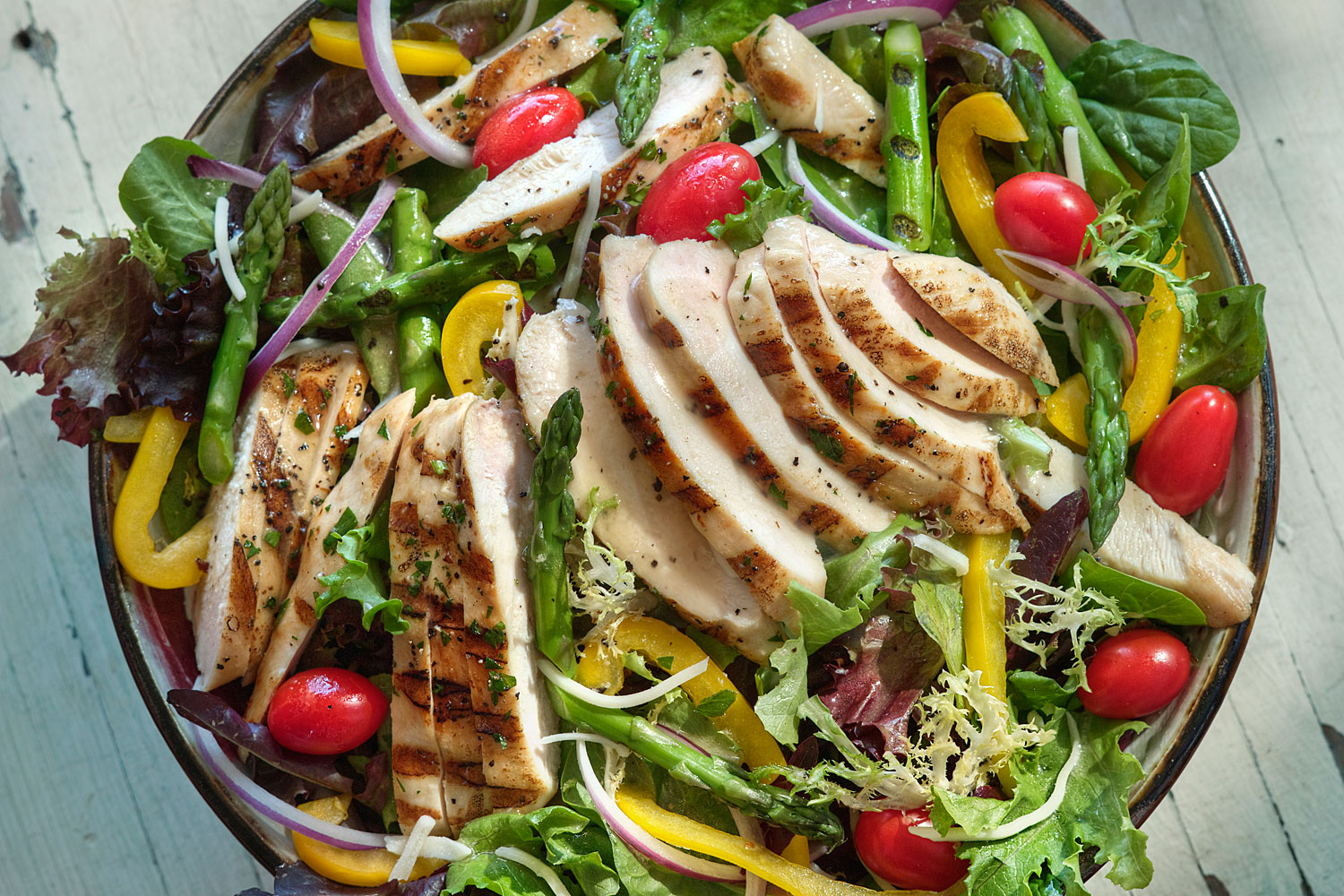 Organic Grilled Chicken Salad