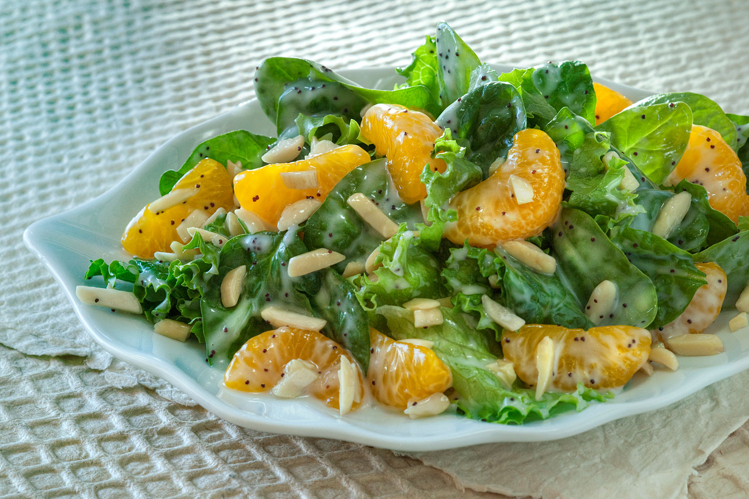 Organic Mandarin Orange Salad