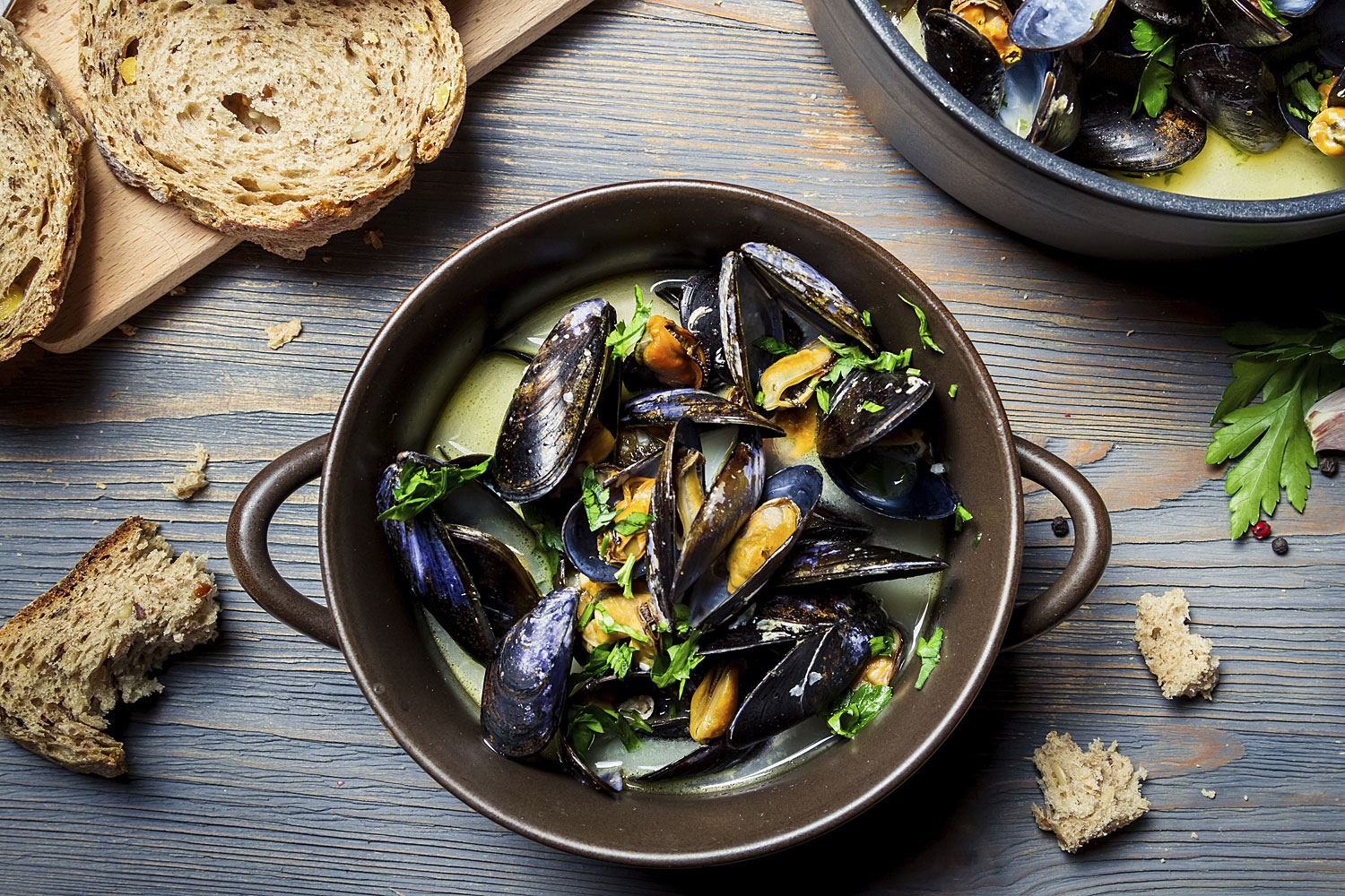 Lissy's Lively Mussels