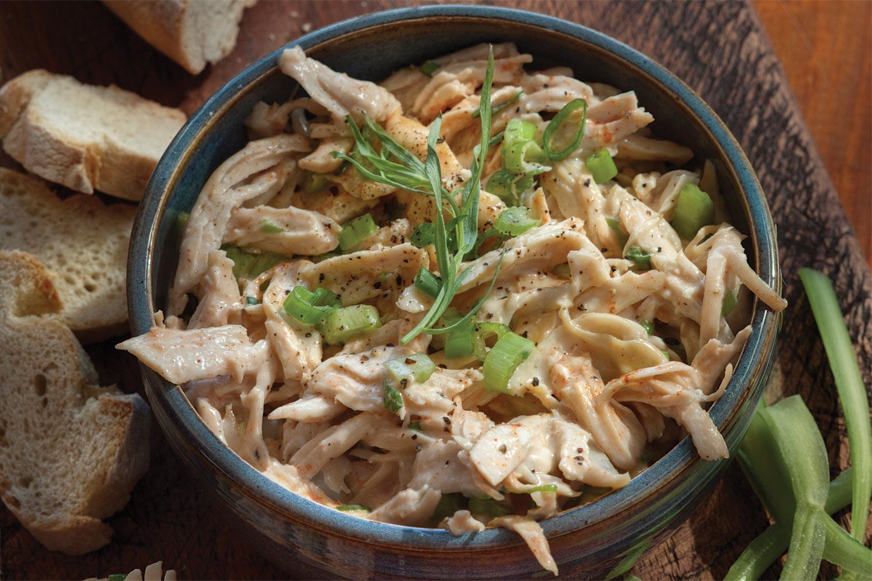 Hot Wing Chicken Salad
