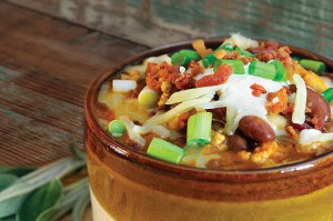 Chipotle Cheddar Taco Soup