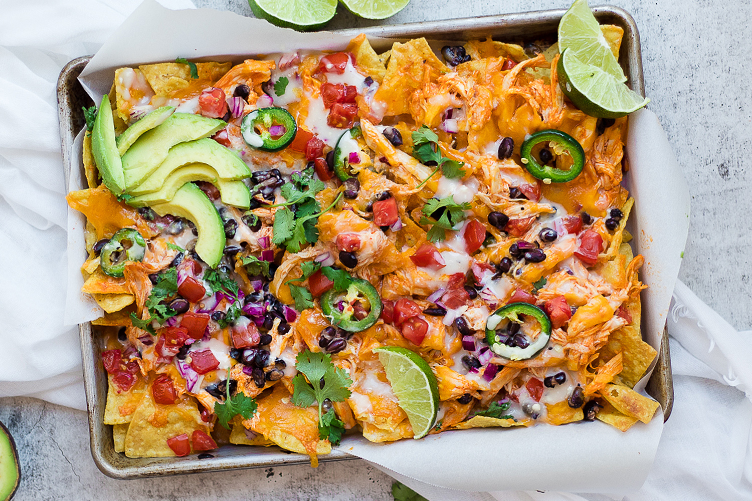 Buffalo Chicken Nachos