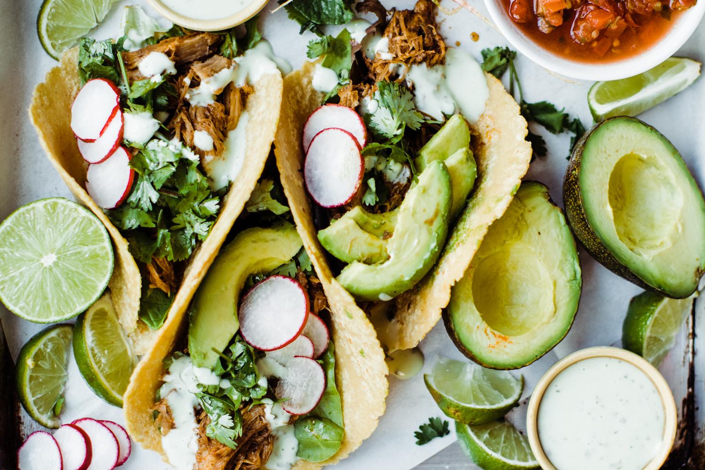 Sweet Pork Street Tacos