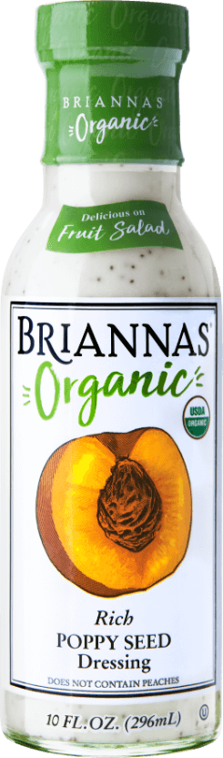 Made with Organic Rich Poppy Seed