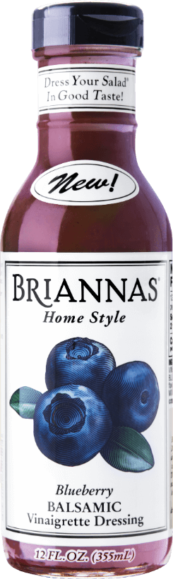 a bottle of Briannas Blueberry Vin