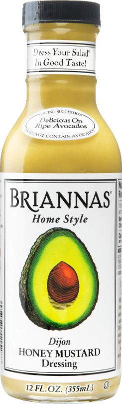 a bottle of Briannas Honey Mustard