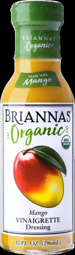 Briannas Organic Mango Vin-Front