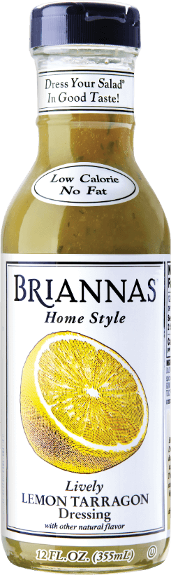 a bottle of Briannas Lemon Tarragon
