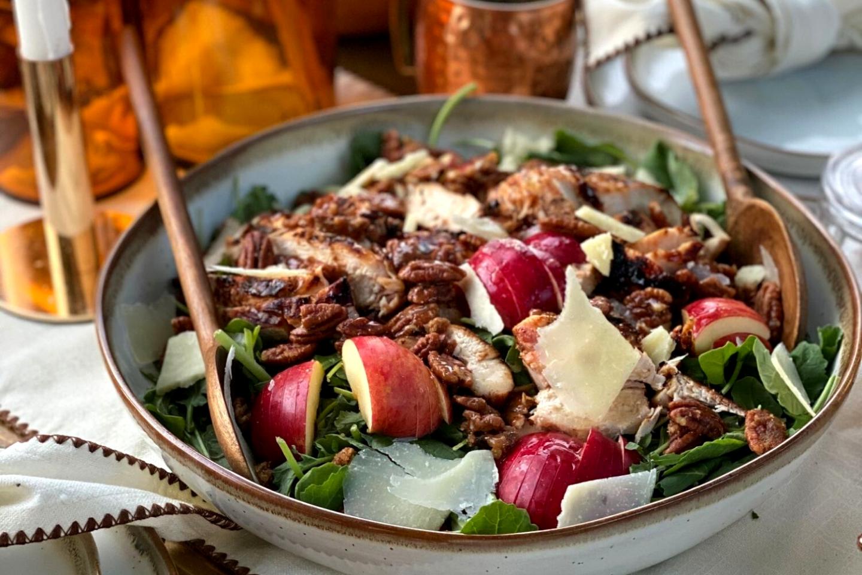 Apple Cider Chicken Marinade Salad
